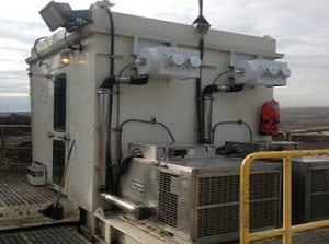 Air Filtration solution in Mining operation to enable clean air for operators.