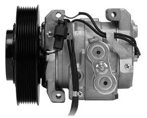 AC Compressor - The heart of your air conditioning system.