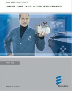 Espar Product Catalog for Airtronic & Hydronic heaters, Fuel Systems, Timers & Controllers