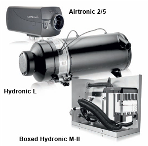 ATC is your MSD for preheating solutions on a variety of applications. Espar Airtronic & Hydronic heaters from 7500-120,000 BTU's