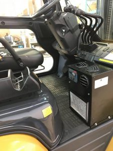 Compact floor mount A/C & Heater - Engineered solutions from ATC.