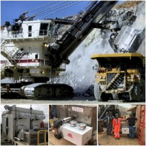 Mining operations using dual Enginaire's precleaners and ATC's Air Filtration 200 solution (896068)